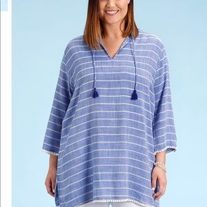 NWT Fresh Produce 2X Everett Striped Tunic